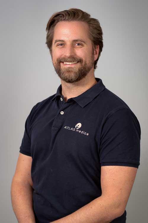 Fysioterapeut Christian Lindtveit Enstad